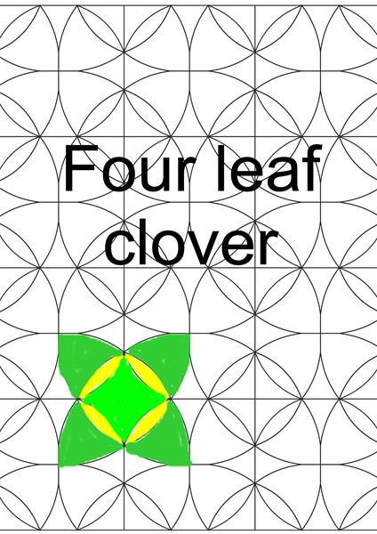 sq four leaf clover