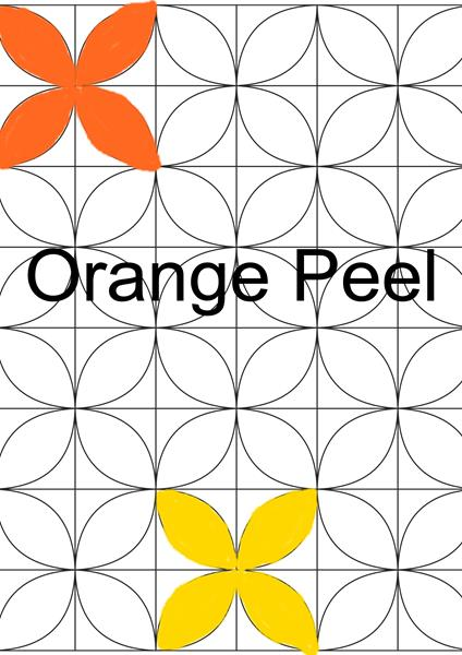 sq orange peel
