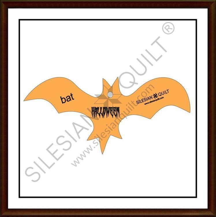Halloween Bat applique