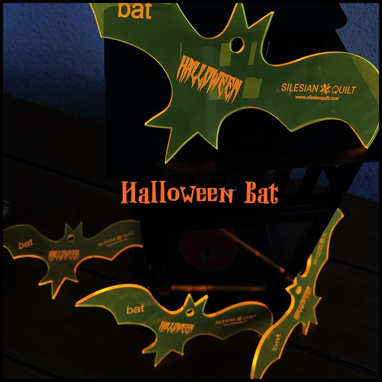 Halloween Bat applique