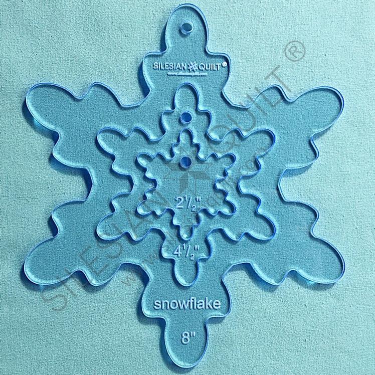 Snowflake v.1 - 8 inches