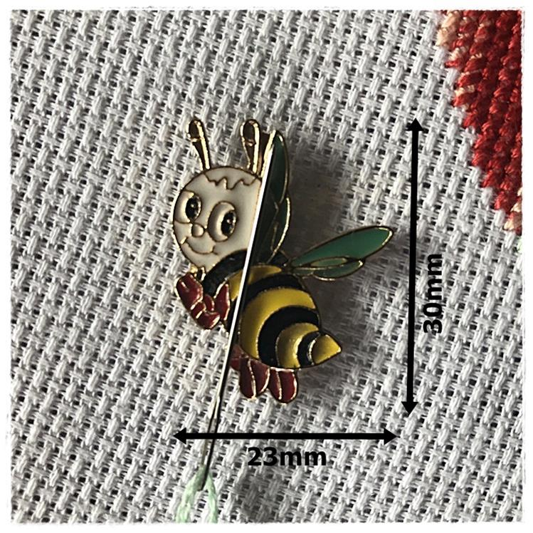 Magnetic Needle Minder Bee