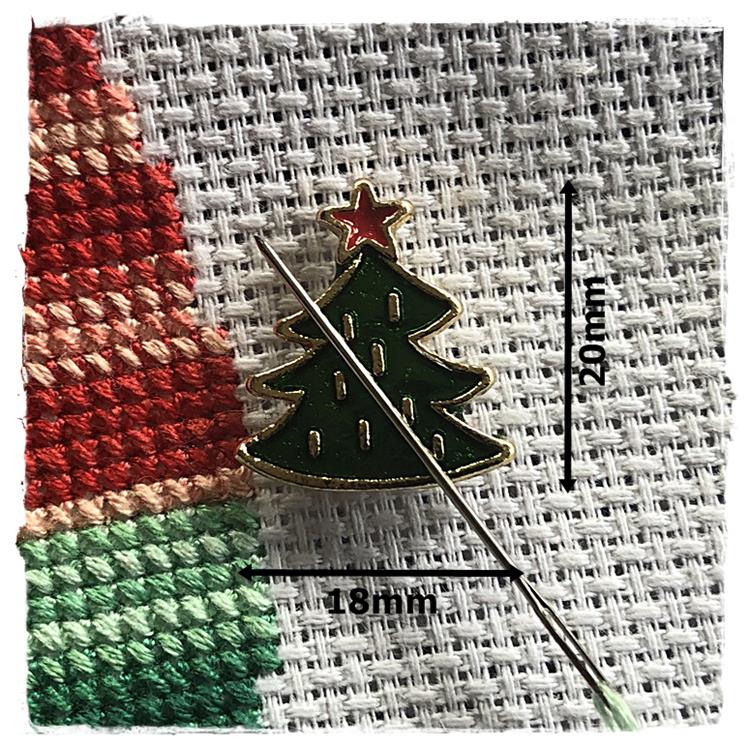 Magnetic Needle Minder Christmas Tree