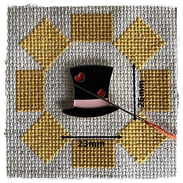 Magnetic Needle Minder Cylinder Hat