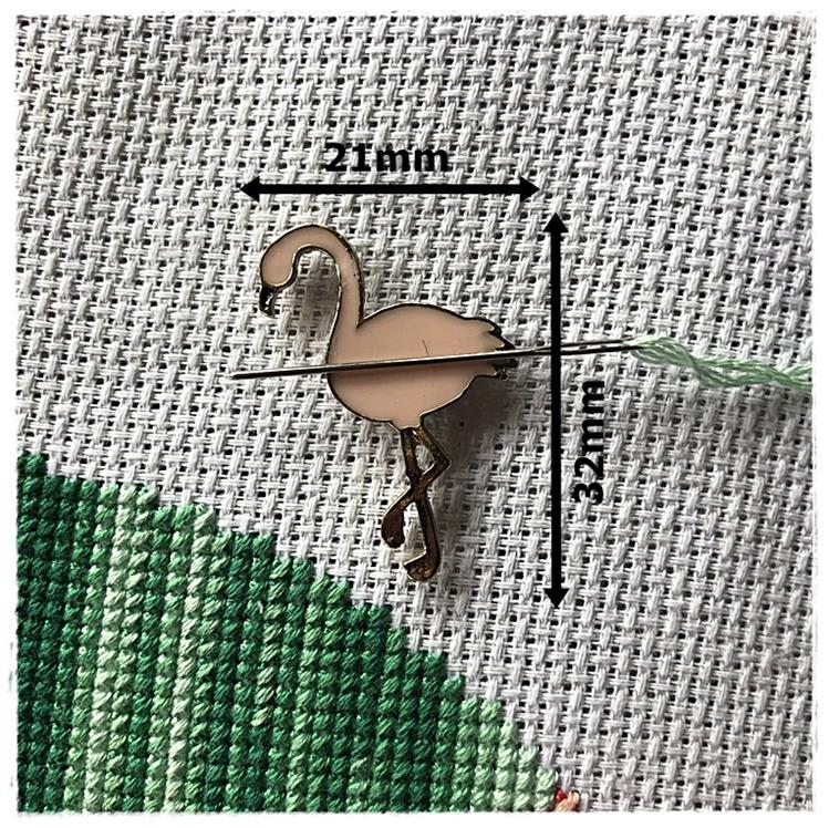 Magnetic Needle Minder Flamingo 2