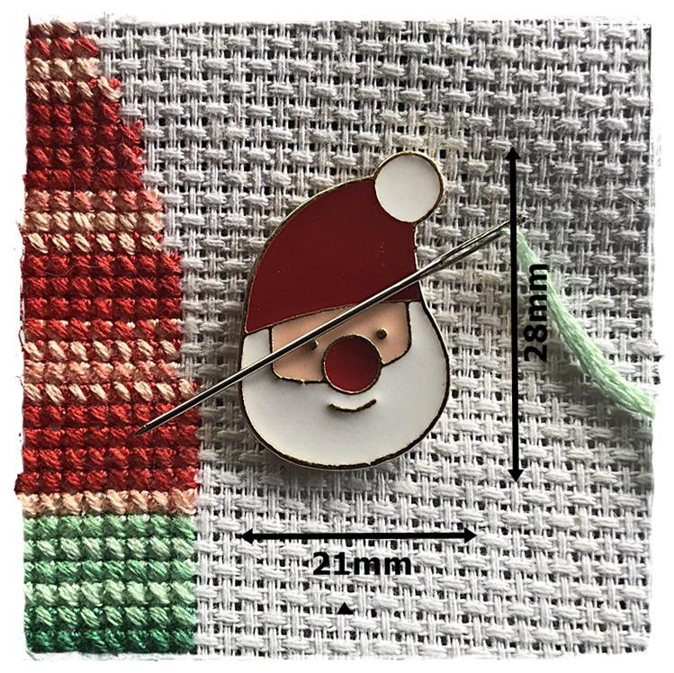 Magnetic Needle Minder Santa Claus