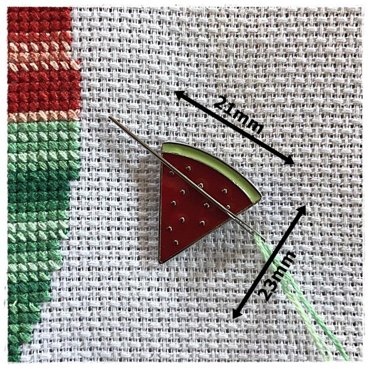 Magnetic Needle Minder Watermelon