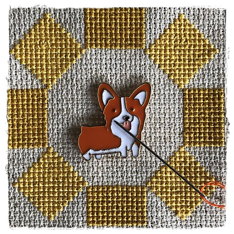 Magnetic Needle Minder Welsh Corgi
