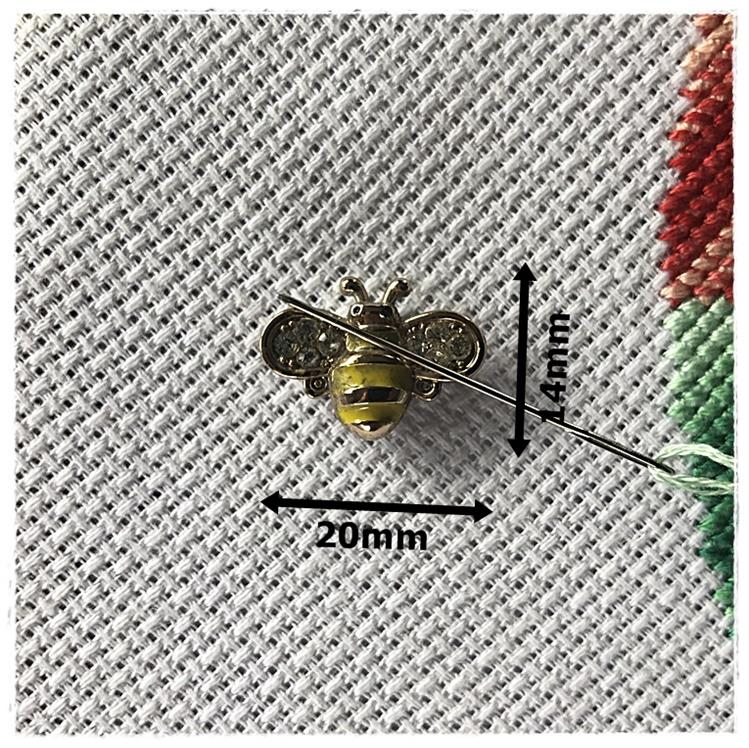Magnetic Needle Minder Yellow Bee